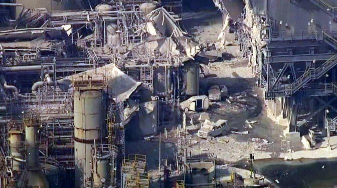 Torrance Refinery Explosion 2015